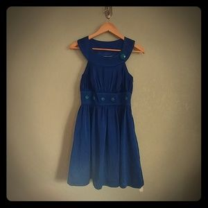 Blue dress by Laundry